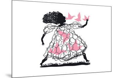 A Little Bird Told Me-Melinda Beck-Mounted Art Print