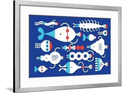 Backstroke-Melinda Beck-Framed Art Print
