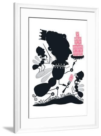Let Them Eat Cake-Melinda Beck-Framed Art Print