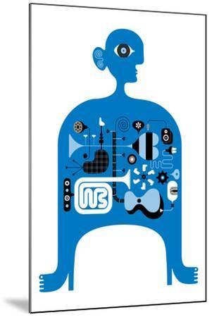 Blue Jazz-Melinda Beck-Mounted Art Print