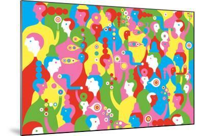 The In Crowd-Melinda Beck-Mounted Art Print