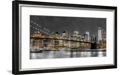 New York Lights-Assaf Frank-Framed Photographic Print