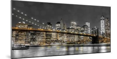 New York Lights-Assaf Frank-Mounted Photographic Print
