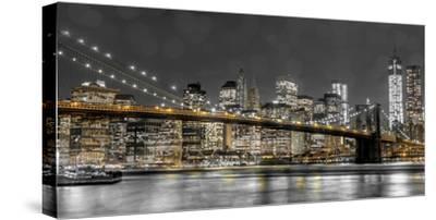 New York Lights-Assaf Frank-Stretched Canvas Print
