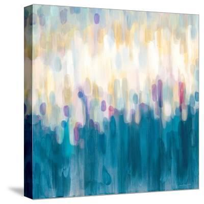Drops of Indigo-Karen Lorena Parker-Stretched Canvas Print