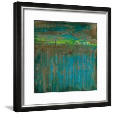 Lime Slice I-Liz Jardine-Framed Art Print