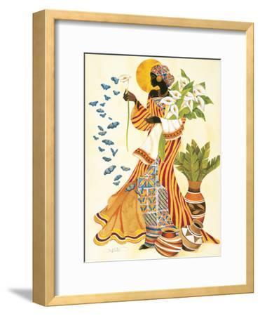 Soul's Awakening-Keith Mallett-Framed Premium Giclee Print