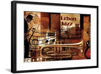 Urban Jazz-Paul Robert-Framed Art Print