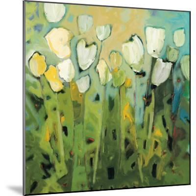White Tulips I-Jennifer Harwood-Mounted Art Print