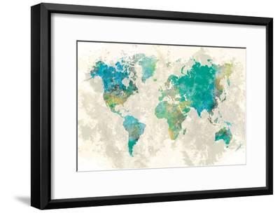 No Borders-Fontaine Stephane-Framed Art Print