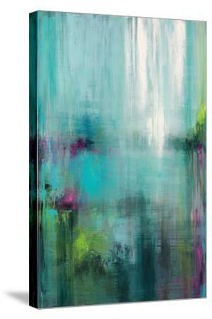 Lily Reflections-Wani Pasion-Stretched Canvas Print