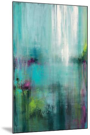 Lily Reflections-Wani Pasion-Mounted Art Print