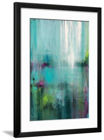 Lily Reflections-Wani Pasion-Framed Art Print