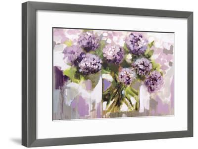 Blush Hydrangea-Amanda J^ Brooks-Framed Art Print
