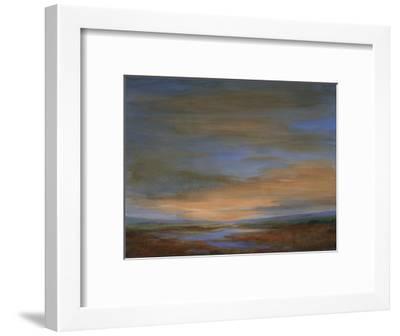 Wetlands Sunset-Sheila Finch-Framed Premium Giclee Print