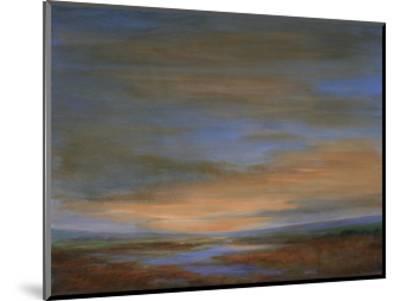 Wetlands Sunset-Sheila Finch-Mounted Premium Giclee Print