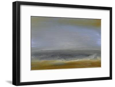 Solitude Sea II-Sharon Gordon-Framed Premium Giclee Print