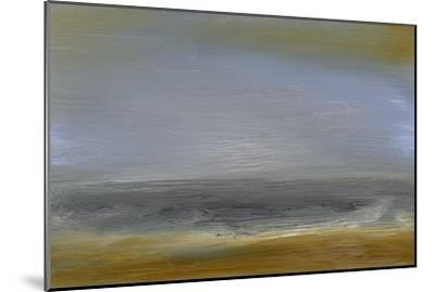 Solitude Sea II-Sharon Gordon-Mounted Premium Giclee Print