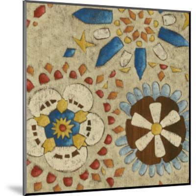 Rustic Mosaic IV-Chariklia Zarris-Mounted Premium Giclee Print