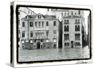 Waterways of Venice XVI-Laura Denardo-Stretched Canvas Print