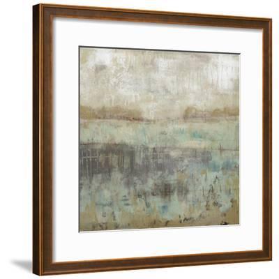 Pastels and Rust I-Jennifer Goldberger-Framed Premium Giclee Print