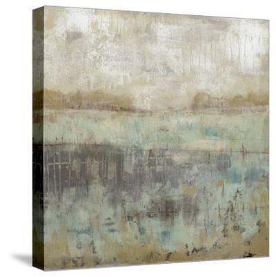 Pastels and Rust I-Jennifer Goldberger-Stretched Canvas Print