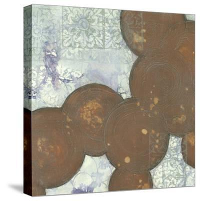 Fractal Abstraction II-Jennifer Goldberger-Stretched Canvas Print