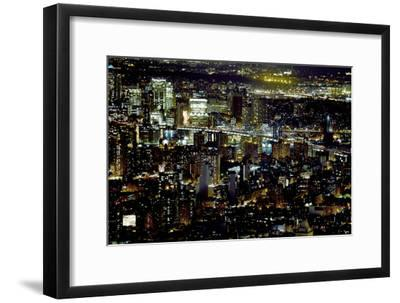 New York at Night II-James McLoughlin-Framed Photographic Print