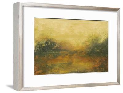 Summer View II-Sharon Gordon-Framed Premium Giclee Print