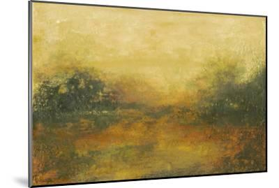 Summer View II-Sharon Gordon-Mounted Premium Giclee Print