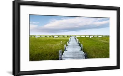 Infinite Pier-James McLoughlin-Framed Photographic Print