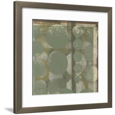 Layered Orbits I-Jennifer Goldberger-Framed Premium Giclee Print