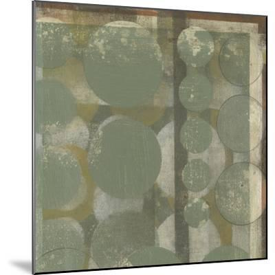 Layered Orbits I-Jennifer Goldberger-Mounted Premium Giclee Print