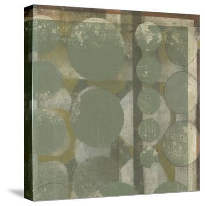 Layered Orbits I-Jennifer Goldberger-Stretched Canvas Print