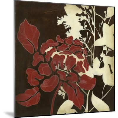 Linen & Silhouettes I-Jennifer Goldberger-Mounted Premium Giclee Print