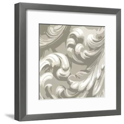 Decorative Relief III-Ethan Harper-Framed Premium Giclee Print