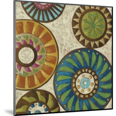 Kaleidoscopic IV-Chariklia Zarris-Mounted Premium Giclee Print