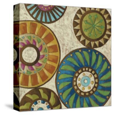 Kaleidoscopic IV-Chariklia Zarris-Stretched Canvas Print