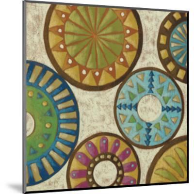 Kaleidoscopic III-Chariklia Zarris-Mounted Premium Giclee Print