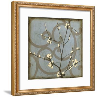 Blossom Branch II-Jennifer Goldberger-Framed Premium Giclee Print