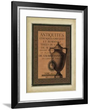 Antiquities Collection I-Vision Studio-Framed Art Print