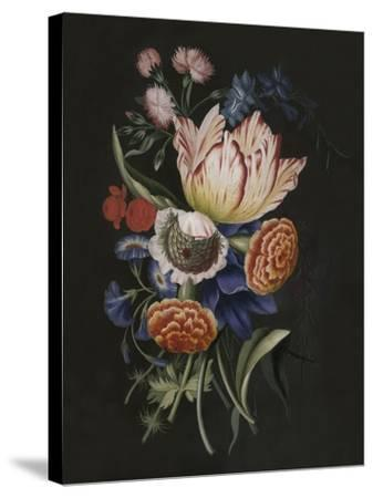 Dramatic Bouquet II--Stretched Canvas Print