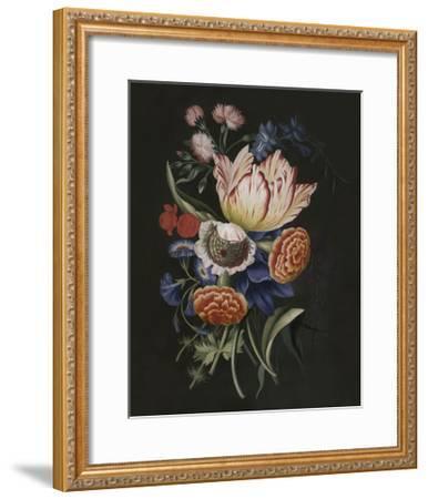 Dramatic Bouquet II--Framed Art Print