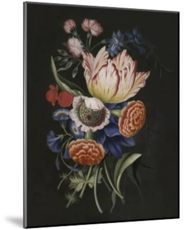Dramatic Bouquet II--Mounted Art Print
