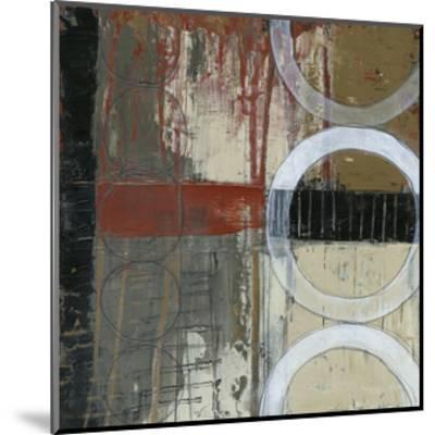 Circles & Stripes I-Jennifer Goldberger-Mounted Premium Giclee Print