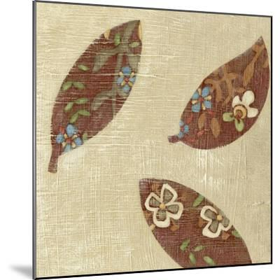 Linen Leaves IV-Chariklia Zarris-Mounted Premium Giclee Print