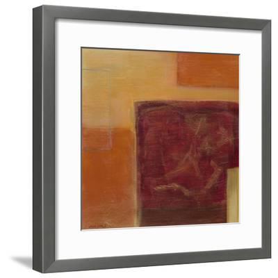 Orange Two-Step II-June Erica Vess-Framed Art Print