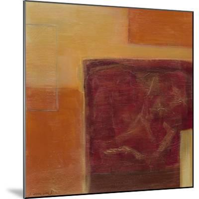 Orange Two-Step II-June Erica Vess-Mounted Art Print