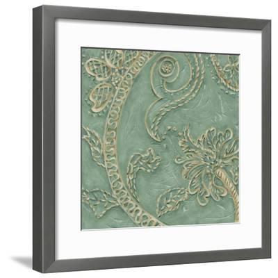 Printed Tiffany Lace I-Chariklia Zarris-Framed Art Print