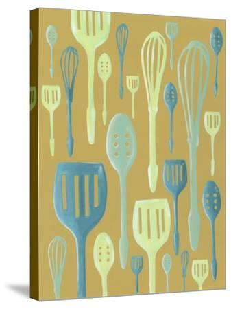 Spring Cutlery I-Vanna Lam-Stretched Canvas Print